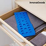InnovaGoods Doblador de Ropa Infantil, PP, Azul, 40x16x1 cm