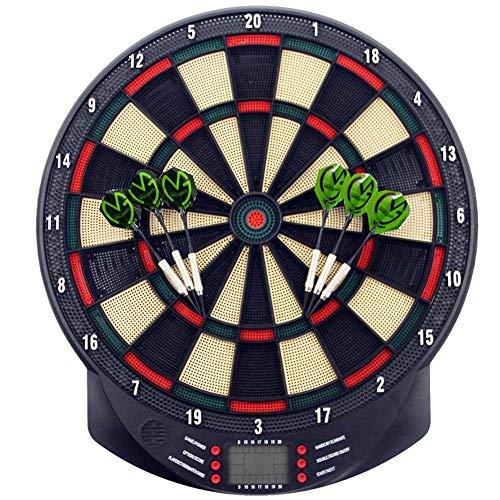 NBWS Dartboard Elektronische Sport Freizeit Elektronische Dartscheibe LCD für 1-8 Spieler e Dart