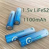 QianHaoQJu XW-Battery, batería Primaria de la batería 4pcs AAA de 1,5 V de...