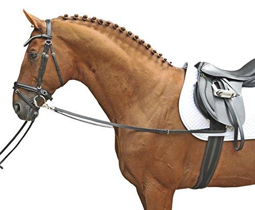 HKM Ausbinder-1873 schwarz Pony