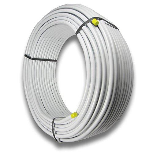 25m Pipetec Alu-Mehrschichtverbundrohr 16x2, VR1620025, DVGW, Aluverbundrohr, Verbundrohr