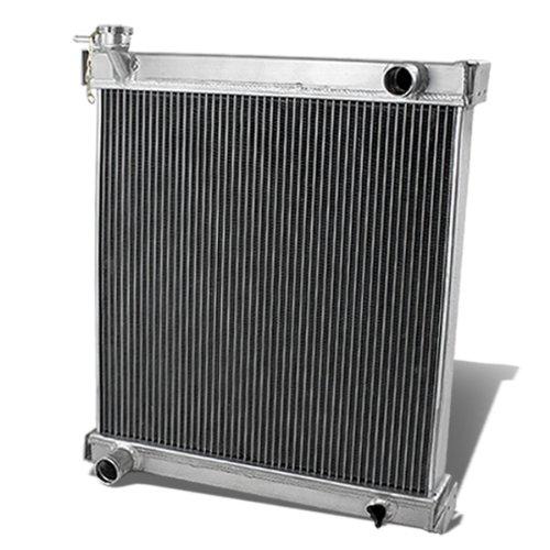 DNA Motoring RA-JEEPTJ-2 2-Row Full Aluminum Radiator