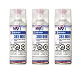 USC SprayMax 2K Glamour High Gloss Aerosol Clear (3 Pack)