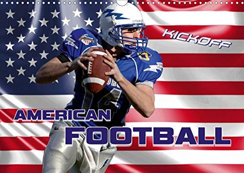 American Football - Kickoff (Wandkalender 2021 DIN A3 quer)