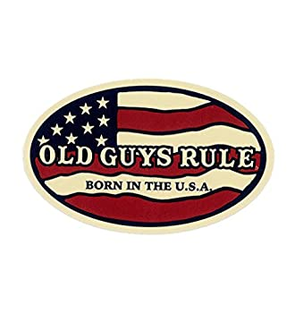 2 pieces SET | OLD GUYS RULES | Hard Hat Sticker | Decal | Helmet Label Rude Funny