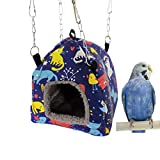 Keer <span class='highlight'>Bird</span> <span class='highlight'>Nest</span> Hammock <span class='highlight'>Tent</span> Bed Toy for for Pet Parrot Budgie Parakeet Cockatiel Conure Cockatoo African Grey Amazon Eclectus Love<span class='highlight'>bird</span> Hamster Chinchilla Guinea Pig Ferret Squirrel <span class='highlight'>Cage</span> Swing