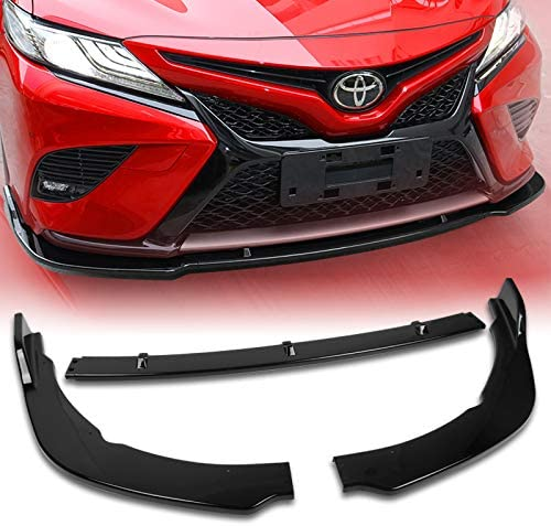 Q1-TECH Front Bumper Lip fit 2018-2020 for compatible Fresno Tulsa Mall Mall with Toyo