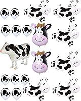 アグレッカ 牛 バルーン パーティー 農場 動物 牛 テーマ 誕生日パーティー用品 誕生日 バーベキューパーティーデコレーション