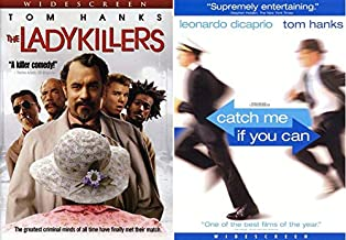Hanks Spielberg + The Brothers of the Coen Variety - The Ladykillers + Catch Me If You Can 2-DVD Bundle