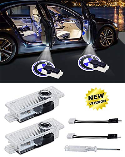 KENPENRI Car Door Projector Light - Welcome Logo Projector Courtesy Step Lights Compatible with 3 5 6 7 Z GT Series(2-Pack)