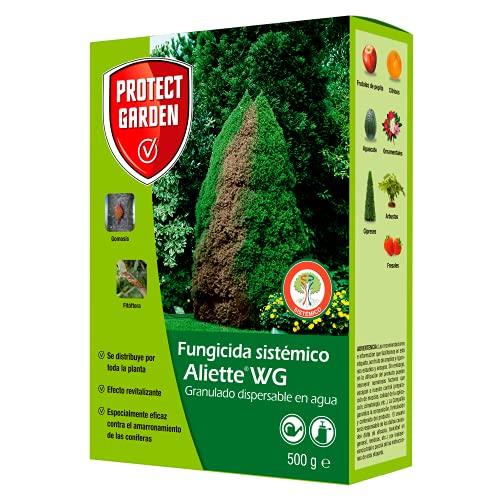 Fungicida sistémico Aliette WG, ideal para cesped, coníferas y cítricos