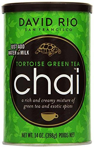 David Rio - Tortoise Green Chai, Pappwickeldose (1 x 398 g)
