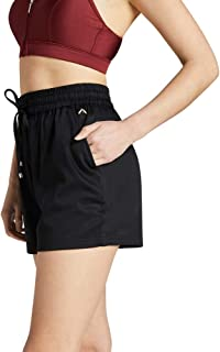 Rockwear Activewear Women's Woven Pocket Short Black 14 from Size 4-18 for Bottoms
