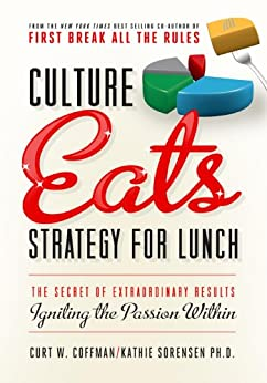 Culture Eats Strategy for Lunch: The Secret of Extraordinary Results, Igniting the Passion Within by [Curt Coffman, Kathie Sorensen]