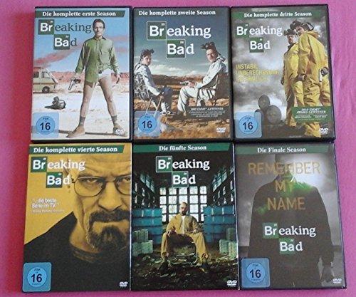 Breaking Bad - Die komplette Serie im Set - Season 1 bis Finale Season - Deutsche Originalware [21 DVDs]