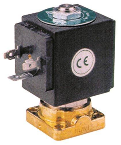 ODE Magnetventil für Kaffeemaschine BFC Lira, ssica-2-3-4gr, DeLux-2-3-4gr mit Dichtung Silikon Messing 230V 2-Wege DN 2,5 14bar