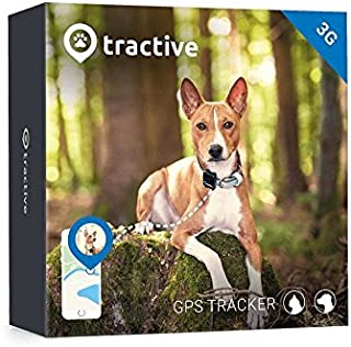 Tractive GPS Tracker for Dogs, Black