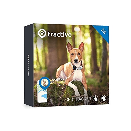 Tractive 3G GPS Dog Tracker – Dog Tracking Device with Unlimited...