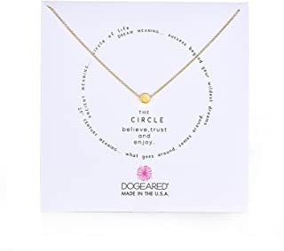 """Dogeared Karma The Circle Necklace,16"""""""
