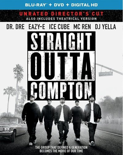 Straight Outta Compton (Blu-ray + DVD + DIGITAL HD with Ultraviolet)