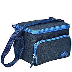 PERFECT LUNCH SOLUTION. With this smartlunchcoolerbag.Keepyourmealsor snacks at their best throughout the daywhileyour bagsitson your desk…rather thaninthe fridge!The5-litresize isperfect for a clip top lunch box, yoghurt, snack, p...