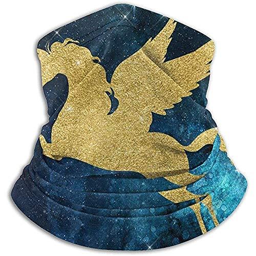 Tonesum Halswärmer Halsmanschette Wärmer Sturmhauben Uni-Mais Sternenstaub Sternbild Winddichter Schal Kopfbedeckung Bandana Kopftuch