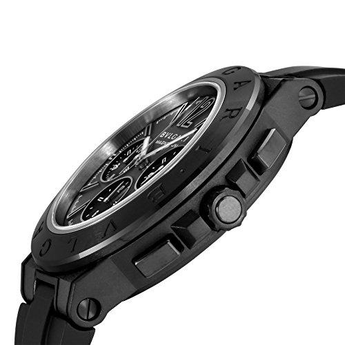 [ブルガリ] 腕時計 ディアゴノマグネシウム ブラック文字盤 クロノグラフ DG42BSMCVDCH 並行輸入品 ブラック
