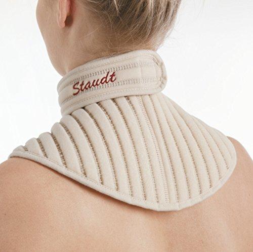Staudt Nacken Manschette Gr. L bei Schulter- und Nackenbeschwerden,Verspannungen im Nacken - oder Schulterbereich,Verspannungskopfschmerzen und Überlastungen