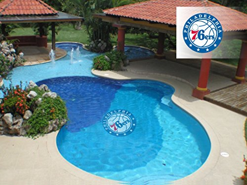 Applied Icon NBA Philadelphia 76ers Pool Graphic Mat, Small