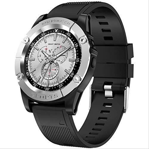 Smart Watch Herenhorloge Ondersteuning Simkaart Stappenteller Camera Bluetooth Smartwatch-kaart Gezondheid Sporthorloge Voor Android-telefoon Grijs