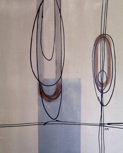 Rflkt Pittura a Olio Dipinta a Mano su Tela - Ottima qualità e artigianalità