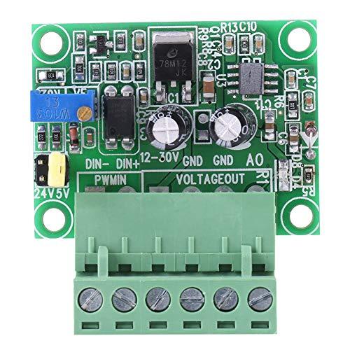 Wandler, 1-3 kHz 0-10 V PWM-Signal-Spannungswandler-Modul Digitale Analogkarte, einfach zu verdrahten und bequem zu bedienen