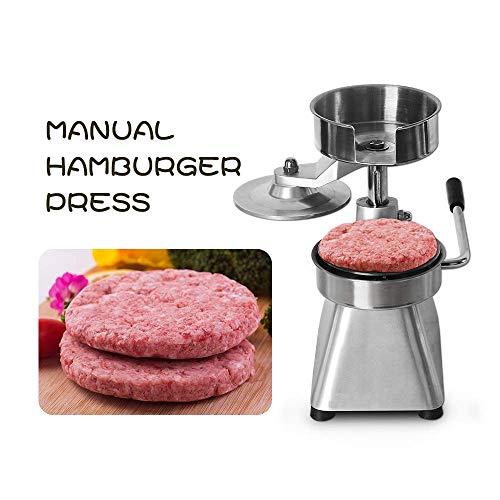 WYZXR 150mm Hamburger Press Machine Manual Fleisch für Burger Fleisch Aluminiumlegierung Burger Pie Küchenwerkzeug