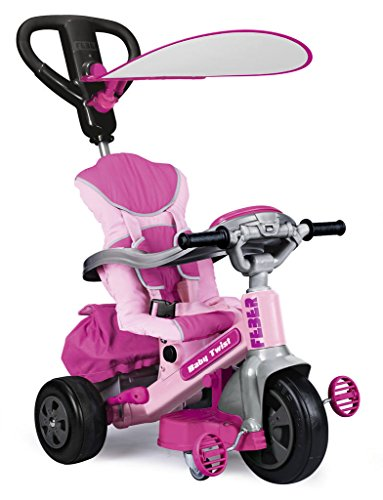 FEBER - Baby Twist Triciclo, Color Rosa