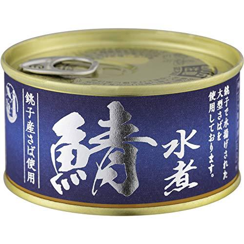 信田缶詰 銚子産 鯖水煮 180g ×12個