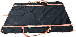 Black Travel Bag, Multi-Function Outdoor Travel Bag Waterproof Beach Blanket Oxford Carpet