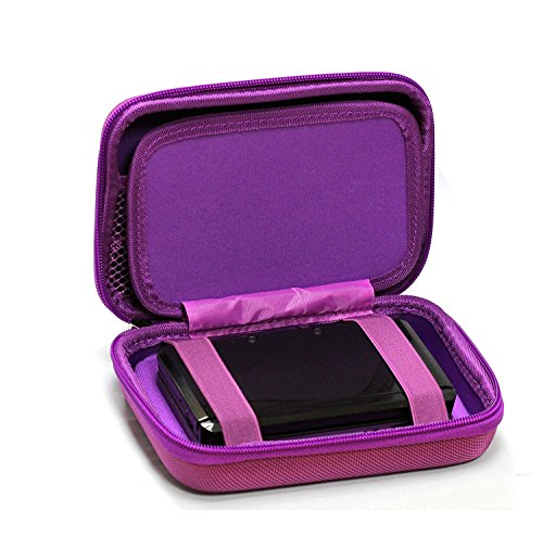 Navitech Purple Power Bank EVA Cover/Case/Travel Case Compatible with The AUKEY Power Bank 20000mAh Portable Charger