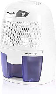 KEDSUM Electric Mini Dehumidifier, Small Dehumidifier, 1200 Cubic Feet (150 sq ft) 16 oz Capacity, Portable Dehumidifiers for Home, Bedroom, Bathroom, Basement, Kitchen, Closet