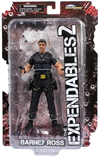 Diamond Select Toys The Expendables 2 Barney Ross Action Figure by Diamond Select