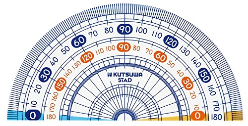 クツワSTAD算数分度器HP09A