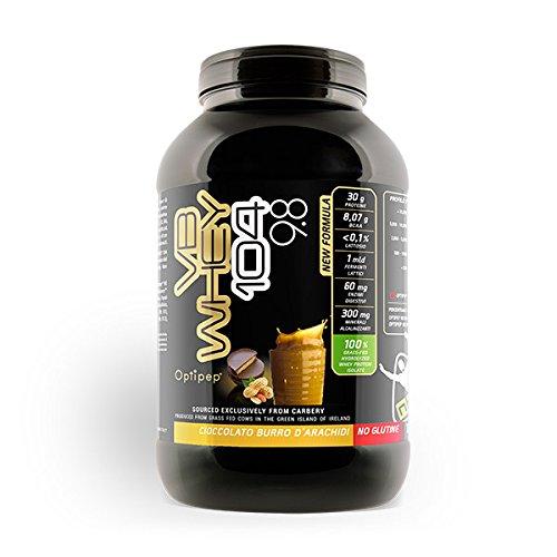 VB WHEY 104 9.8 (1980g) Proteine isolate idrolizzate (GUSTO Cioccolato al Burro d'Arachidi) - NET Integratori