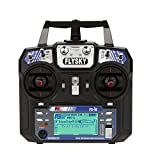 GoolRC Flysky FS-i6 AFHDS 2A 2.4GHz 6CH Radio System Transmitter for RC Helicopter Glider with FS-iA6 Receiver Mode 2