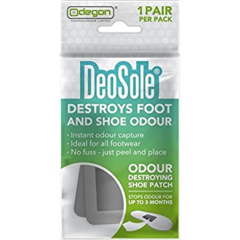 Deosole Chaussure Patch Détruit les Pied et la Chaussure odeur Lot de 1