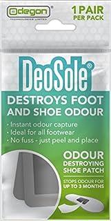 Deosole - Parche para zapatos que destruye el olor de pies y zapatos, 1 paquete