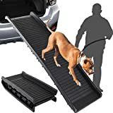 Best Dog Ramps - SkyTree Dog Ramp Flod, Pet Ramp for SUV Review
