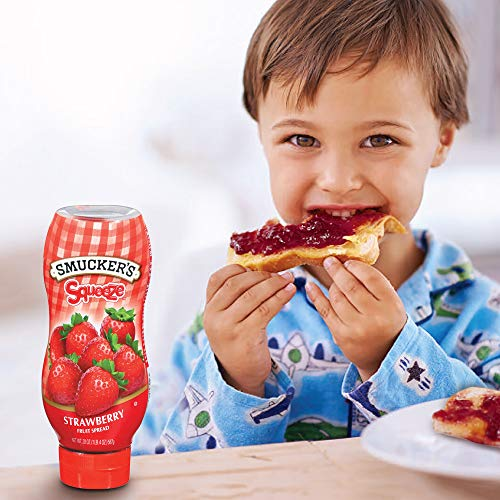 Smucker's Squeeze Strawberry Fruit Spread, 20 Ounces