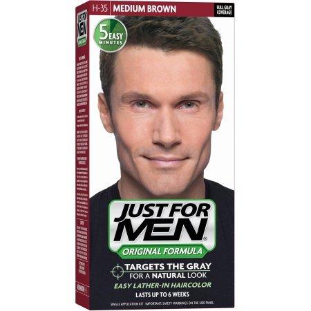 Just for Men Haarfarbe - Mittelbraun H-35 (3er-Pack)