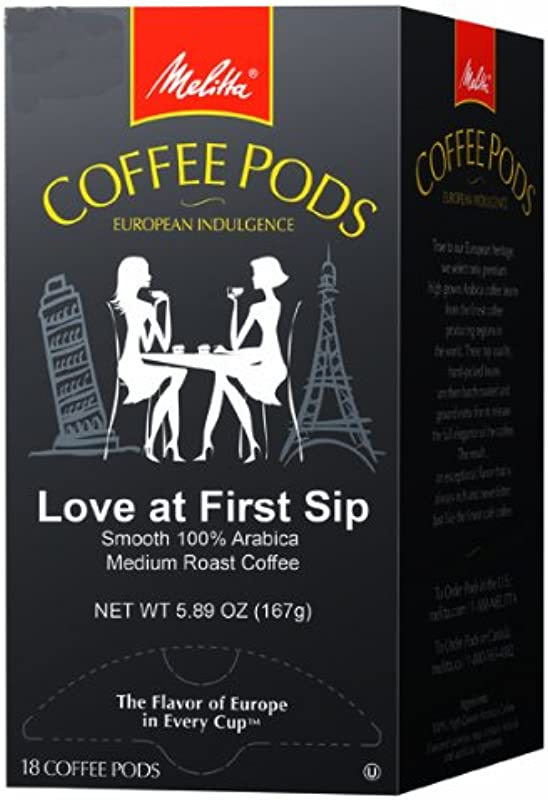 Melitta One 18 Pods Love At First Sip Pack Of 4