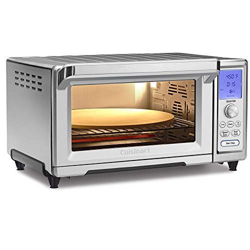 Cuisinart TOB-260N1 Chef's Convection Toaster Oven, Stainless Steel (Renewed)