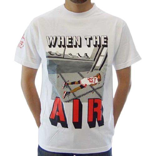 サイズ:L GOLIATH ゴライアス ウェン ザ エアー S/S Tシャツ ホワイト
